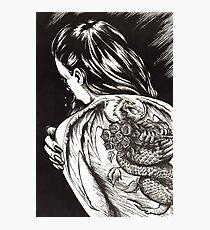 Dragon Lady Photographic Print