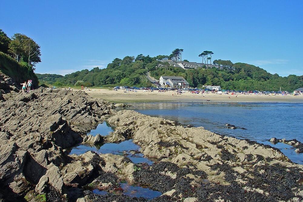 Maenporth, Cornwall by Rod Johnson