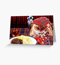 Burns night greeting cards redbubble burns night greeting card m4hsunfo