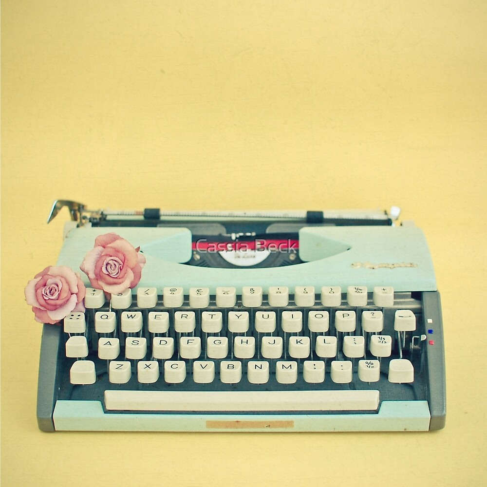 The Typewriter by Cassia Beck