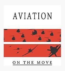 Aviation on the Move Photographic Print
