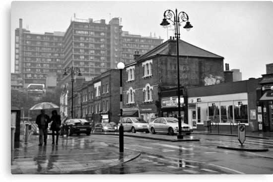 Rain in Hampstead Heath by Karen E Camilleri
