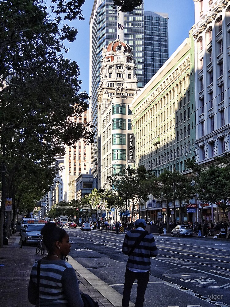 downtown San Francisco by vigor