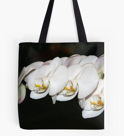 Winter White - Orchids Tote Bag
