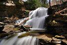 Splash of Sunlight on Shawnee Falls by Gene Walls