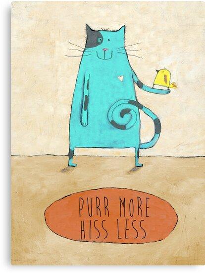 Purr More Hiss Less by Judi Bagnato