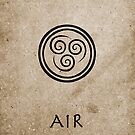 Avatar Last Airbender Elements - Air by briandublin