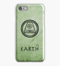 Avatar Last Airbender Elements - Earth iPhone Case/Skin
