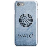 Avatar Last Airbender Elements - Water iPhone Case/Skin