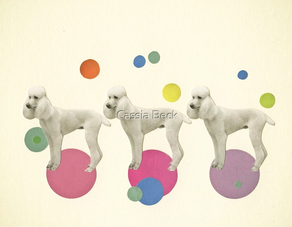 Oodles of Poodles by Cassia Beck