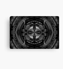 Abstract sci-fi pattern Canvas Print