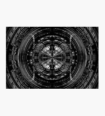 Abstract sci-fi pattern Photographic Print