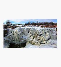 Frostbite Falls Photographic Print