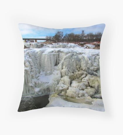 Frostbite Falls Throw Pillow