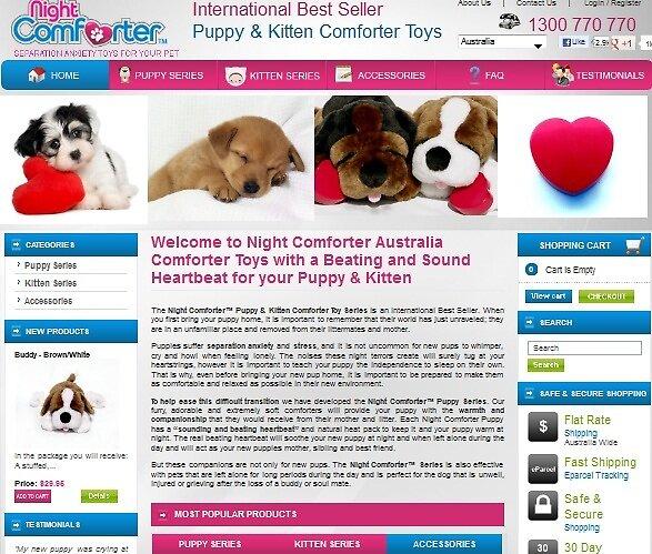 Nightcomforter-puppy toys by MichaelCBurke