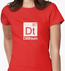 Dilithium - Star Trek Women's Fitted T-Shirt