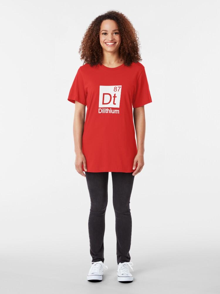 Alternate view of Dilithium - Star Trek Slim Fit T-Shirt