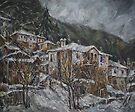 Winter in Shiroka Luka by Stefano Popovski