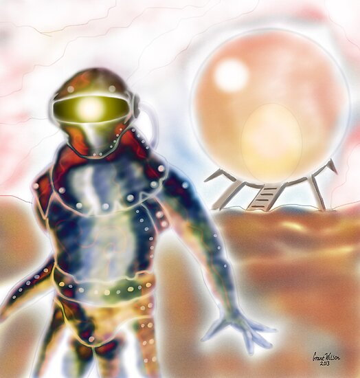 Spaceman by Grant Wilson