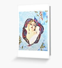 Bedroom Eyes Greeting Card