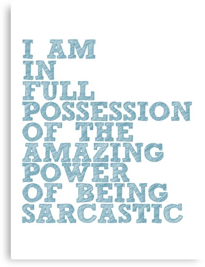 """The Demon's Lexicon: """"Sarcastic"""" by dictionaried"""