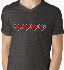 Pixel Hearts Men's V-Neck T-Shirt