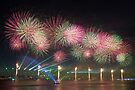 Australia Day Fireworks on the Swan by Mark McClare