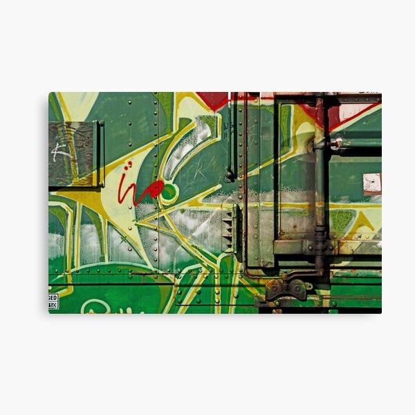 Railcar Graphics. Canvas Print