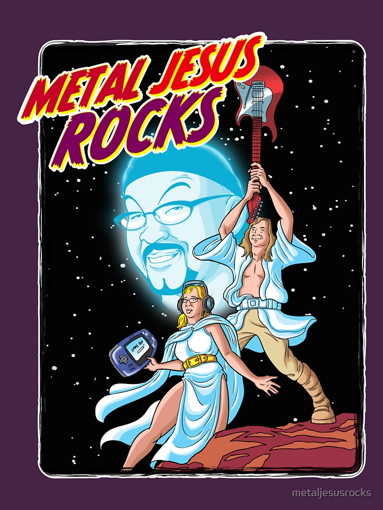 Metal Jesus Rocks - Galaxy Far Away by metaljesusrocks