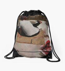 madonnari in puerto vallarta Drawstring Bag