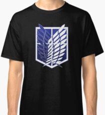 Attack On Titans Survey Corps Logo Classic T-Shirt