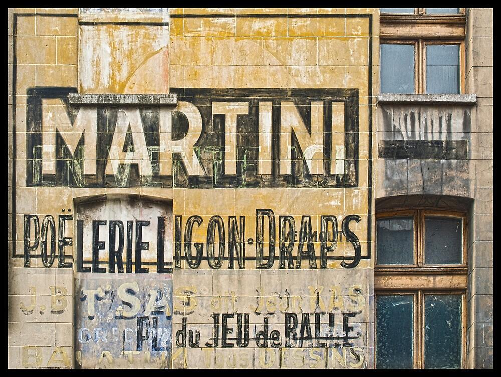Martini et Poëlerie by Michel Godts