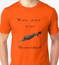 You just got Sarged! Red vs Blue T-Shirt