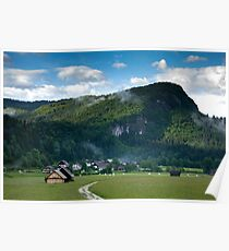 Beautiful Bohinj Valley Poster