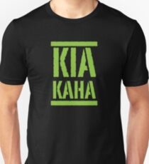 KIA KAHA (STAY STRONG in MAORI language) Unisex T-Shirt