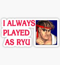 Street Fighter 2 Memories RYU Sticker