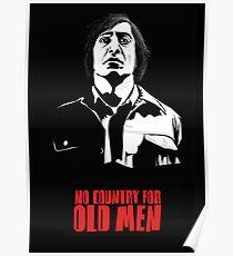 Anton Chigurh (Javier Bardem) No Country For Old Men  Poster