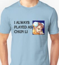Street Fighter 2 Memories CHUN LI Unisex T-Shirt