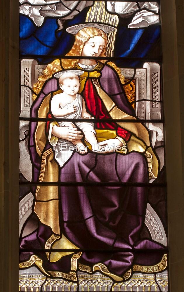 Church Window by Peter Davies