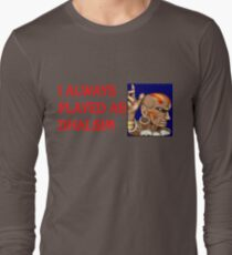Street Fighter 2 Memories DHALSIM Long Sleeve T-Shirt