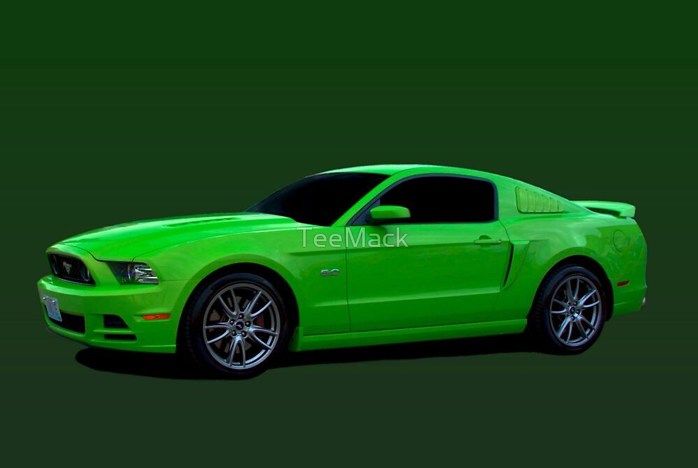 2013 ford mustang 5 0 by teemack redbubble. Black Bedroom Furniture Sets. Home Design Ideas