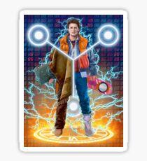 Back To The Future Fan art Sticker
