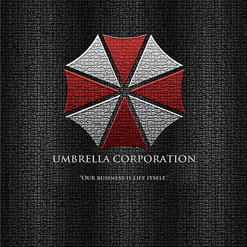 Umbrella Corporation Logo iPhone Cover by thompson9290