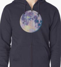 Sudadera con capucha y cremallera Luna
