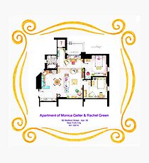 "Apartment of Monica and Rachel from ""FRIENDS"" Photographic Print"
