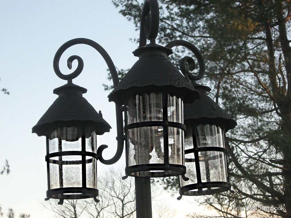 Wrought Iron Street Lamps by Jane Neill-Hancock