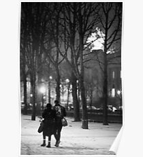 From Paris with Snow Poster