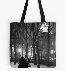 From Paris with Snow Tote Bag