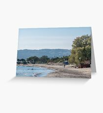 Paradise Beach  Kos   Greece Greeting Card
