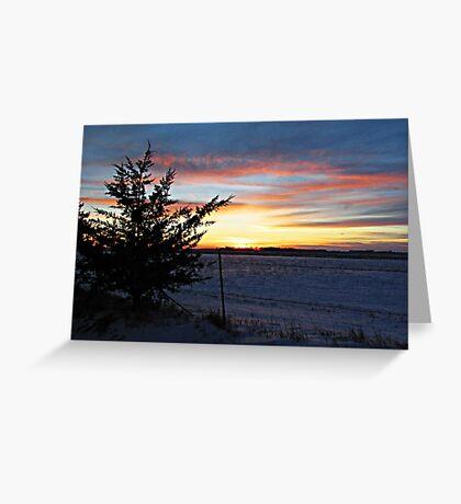 Pastel Plains Greeting Card